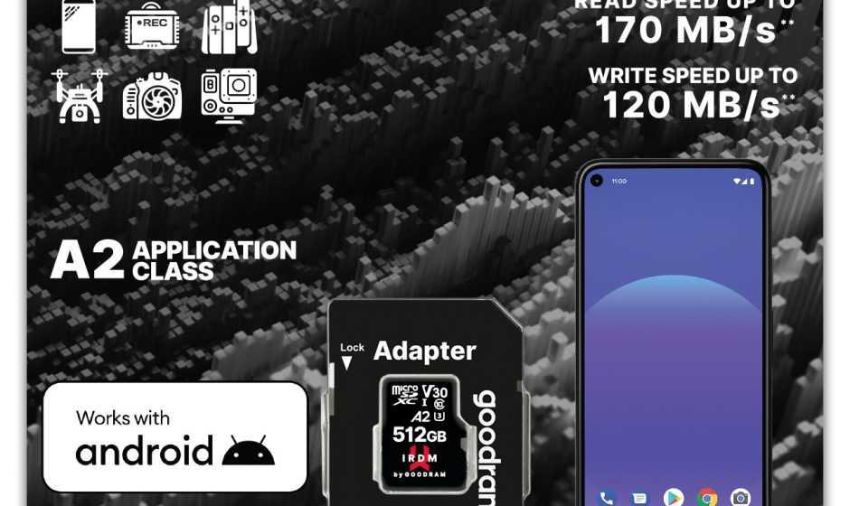 IRDM M2AA A2: La nuova MicroSD presentata da Goodram