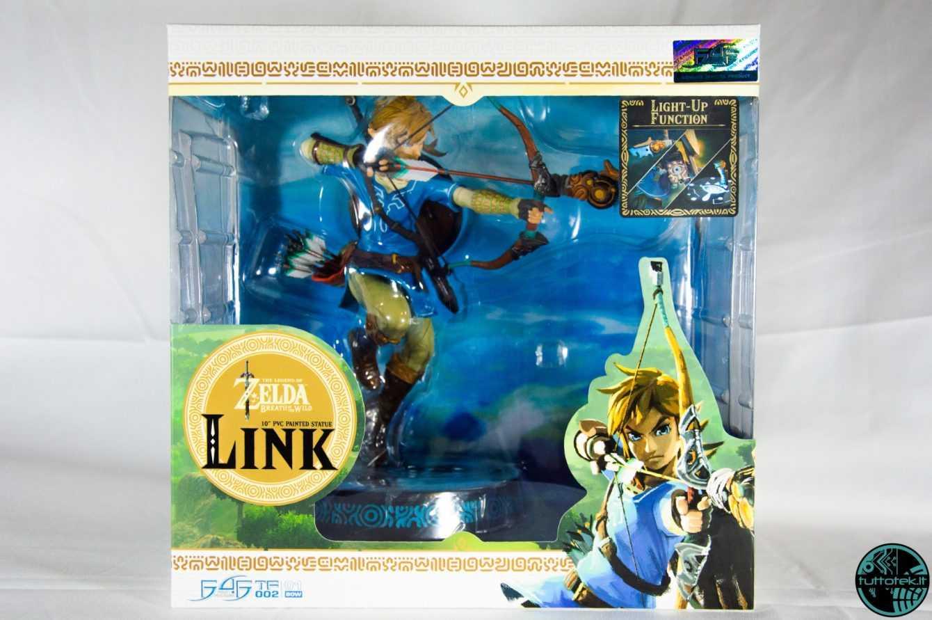 Recensione First 4 Figures, Link  (The Legend of Zelda: BOTW)