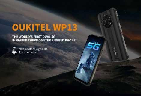 OUKITEL WP13: il miglior smartphone rugged 5G Sim Dual SIM