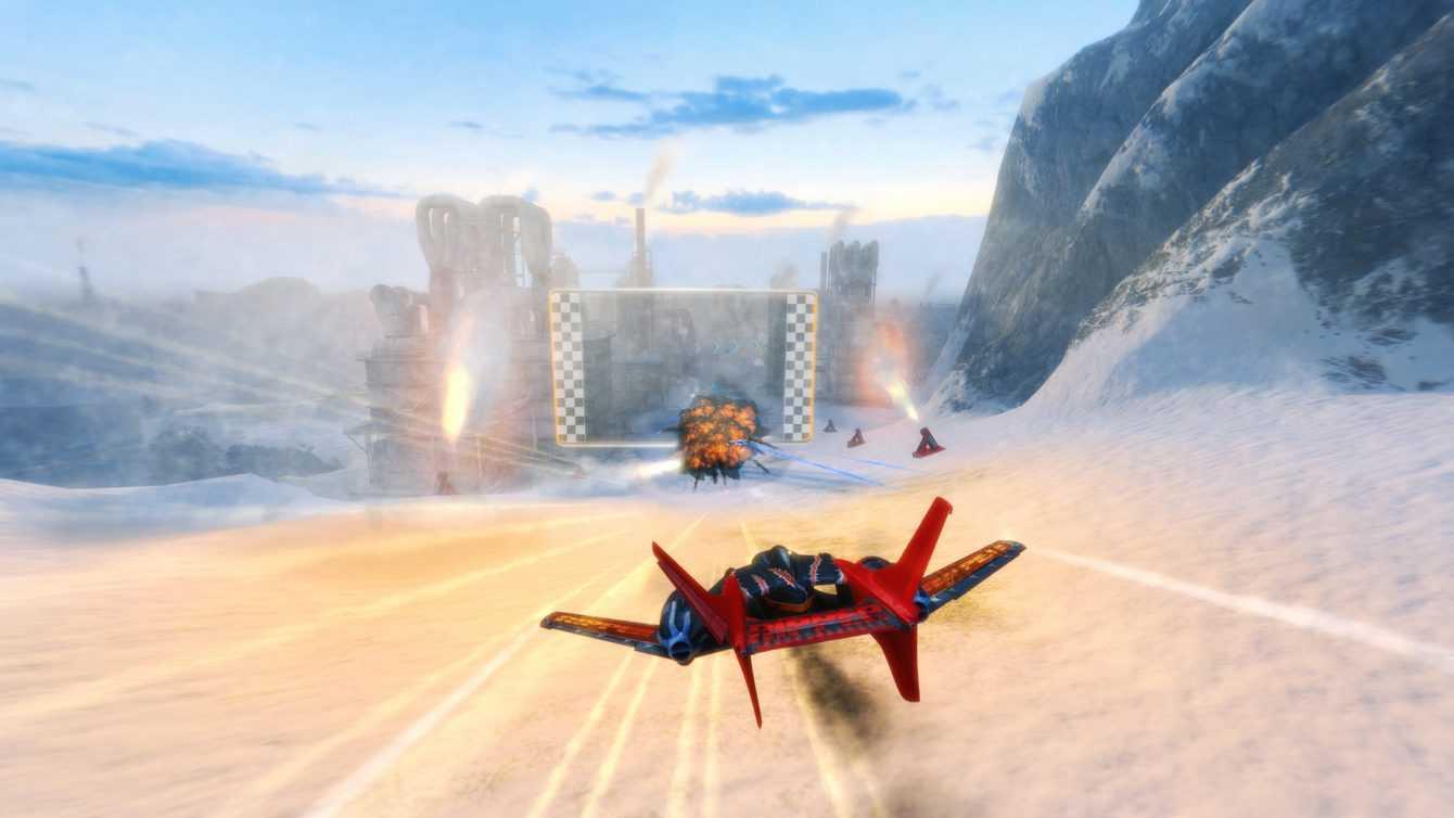 Recensione SkyDrift Infinity: alta velocità e poco altro