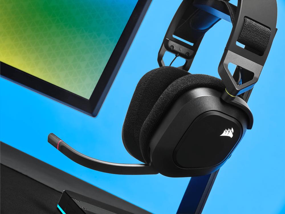 HS80 RGB Wireless: New Corsair gaming headphones