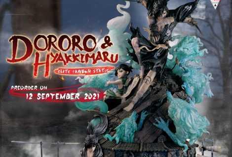 Figurama presenta la Dororo & Hyakkimaru Elite Fandom Statue