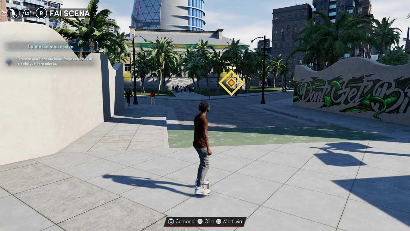 NBA 2K22: come usare lo skateboard per spostarsi