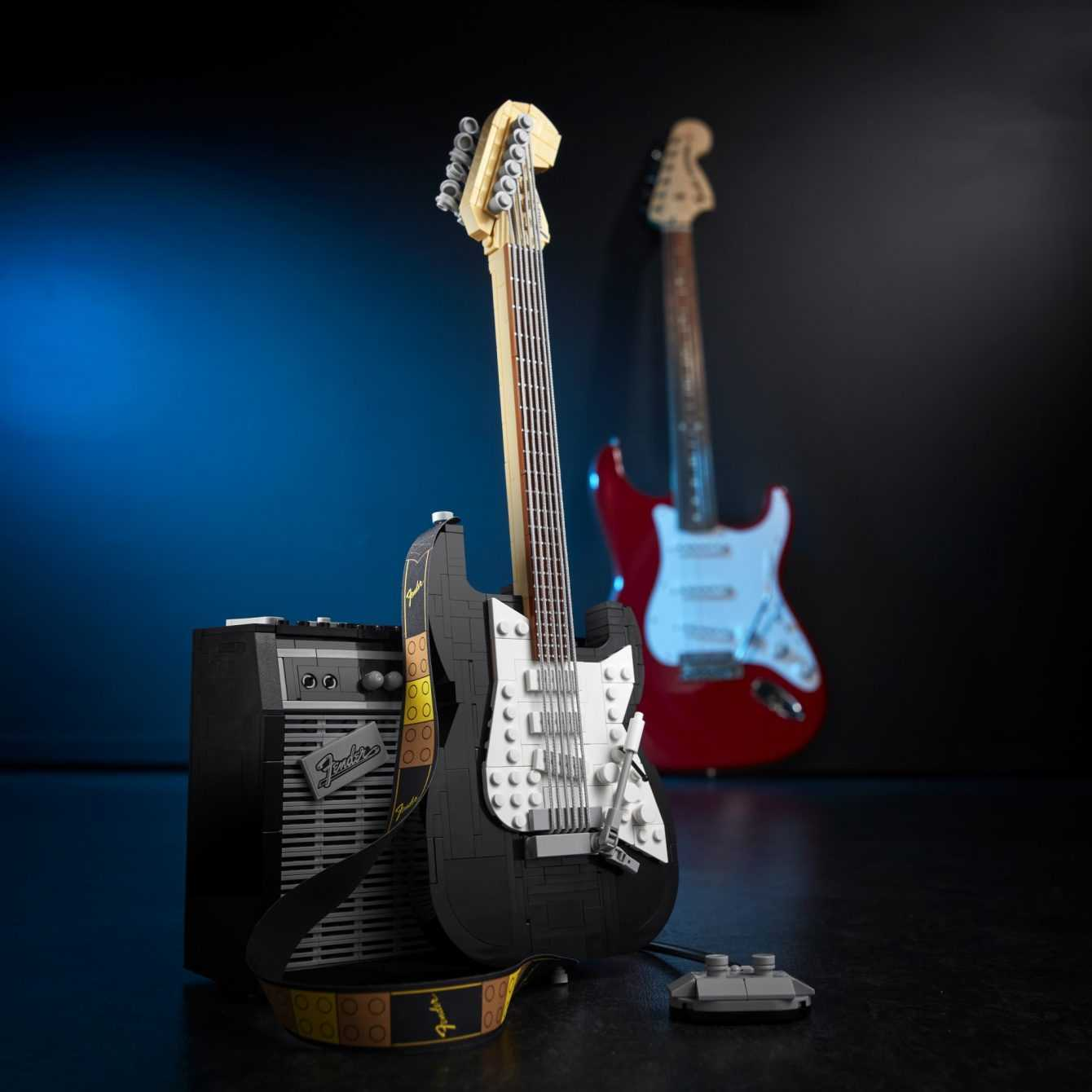 Introducing the new LEGO Ideas Fender Stratocaster set!