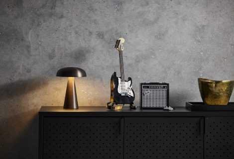 Ecco il nuovo set LEGO Ideas Fender Stratocaster!