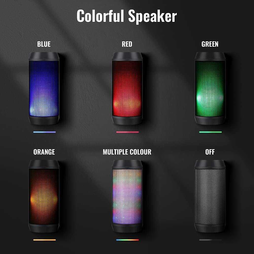 Cassa Bluetooth RGB: sconto del 50% su Amazon