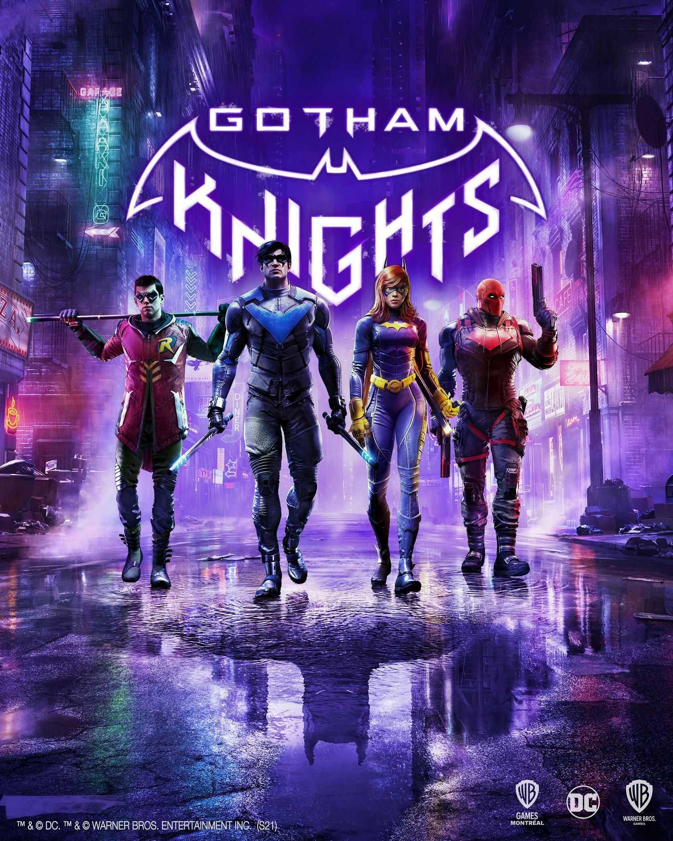 Gotham Knights: svelata l'immagine di copertina!