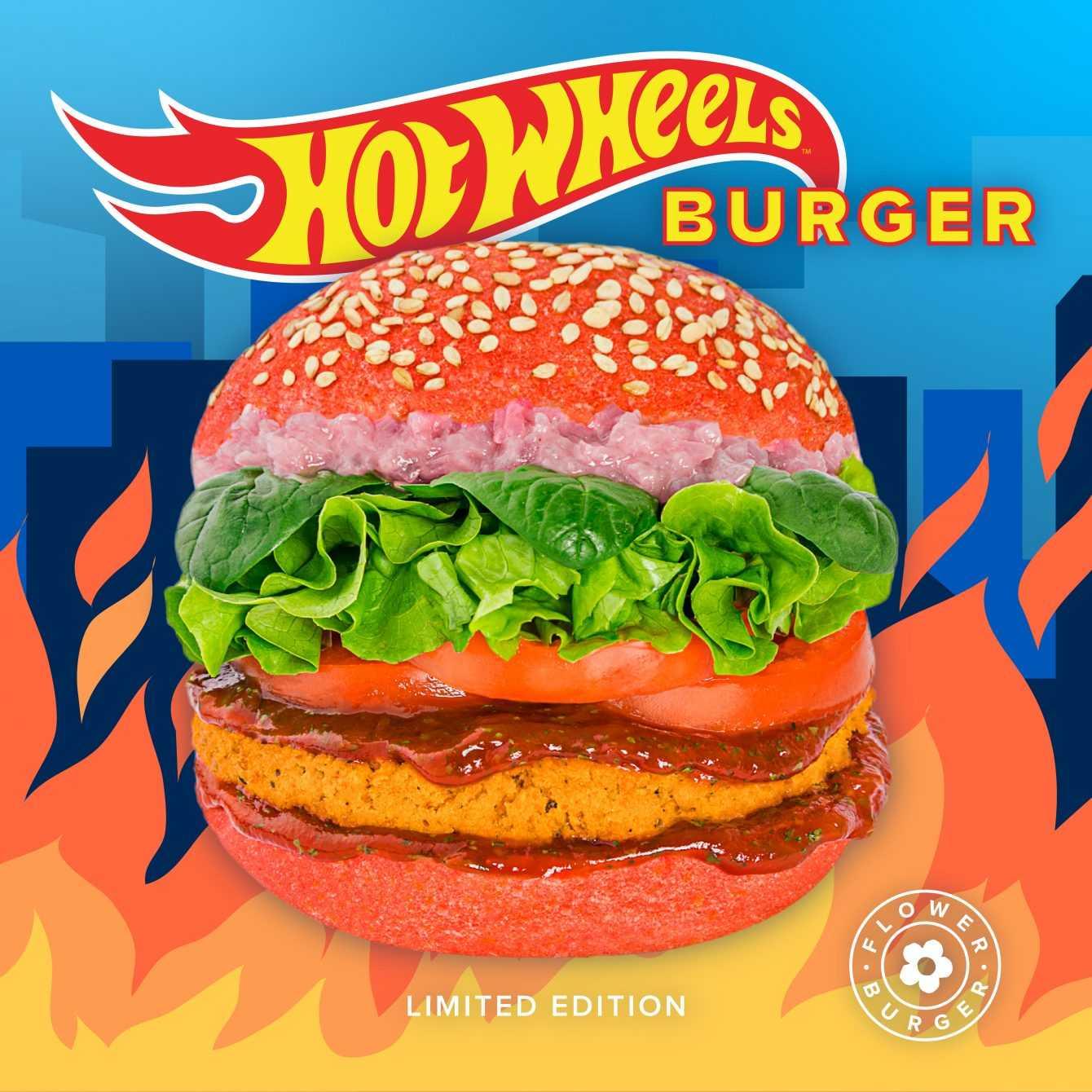 Da Flower Burger è arrivato il burger di Hot Wheels!