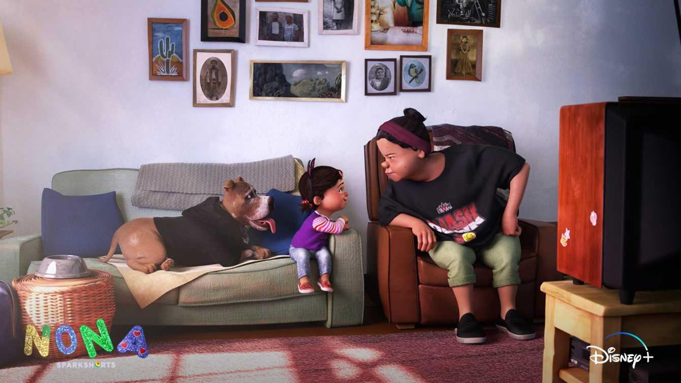 Nona: il nuovo corto animato su Disney+