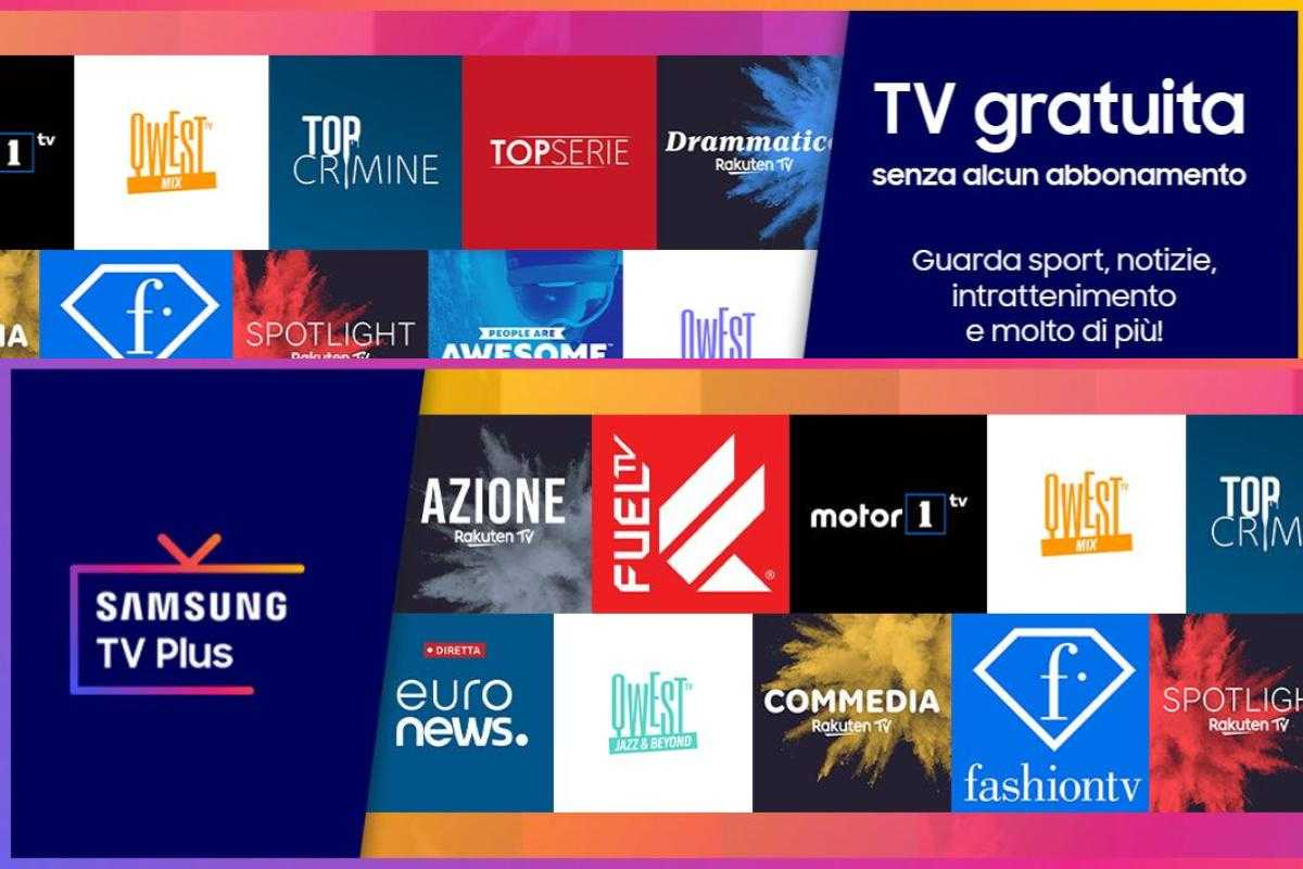 Samsung lancia sette canali