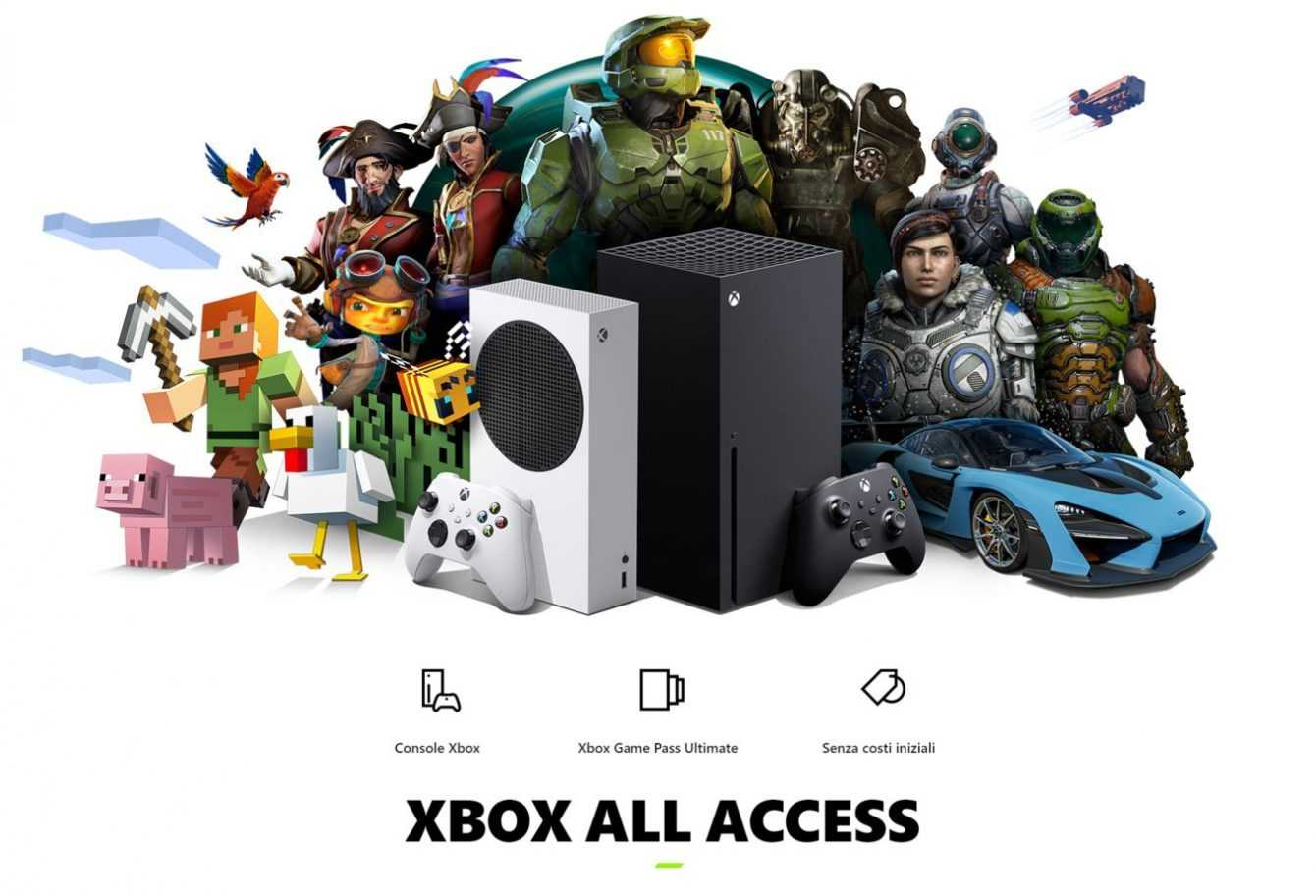 Xbox All Access is finally available in Italy