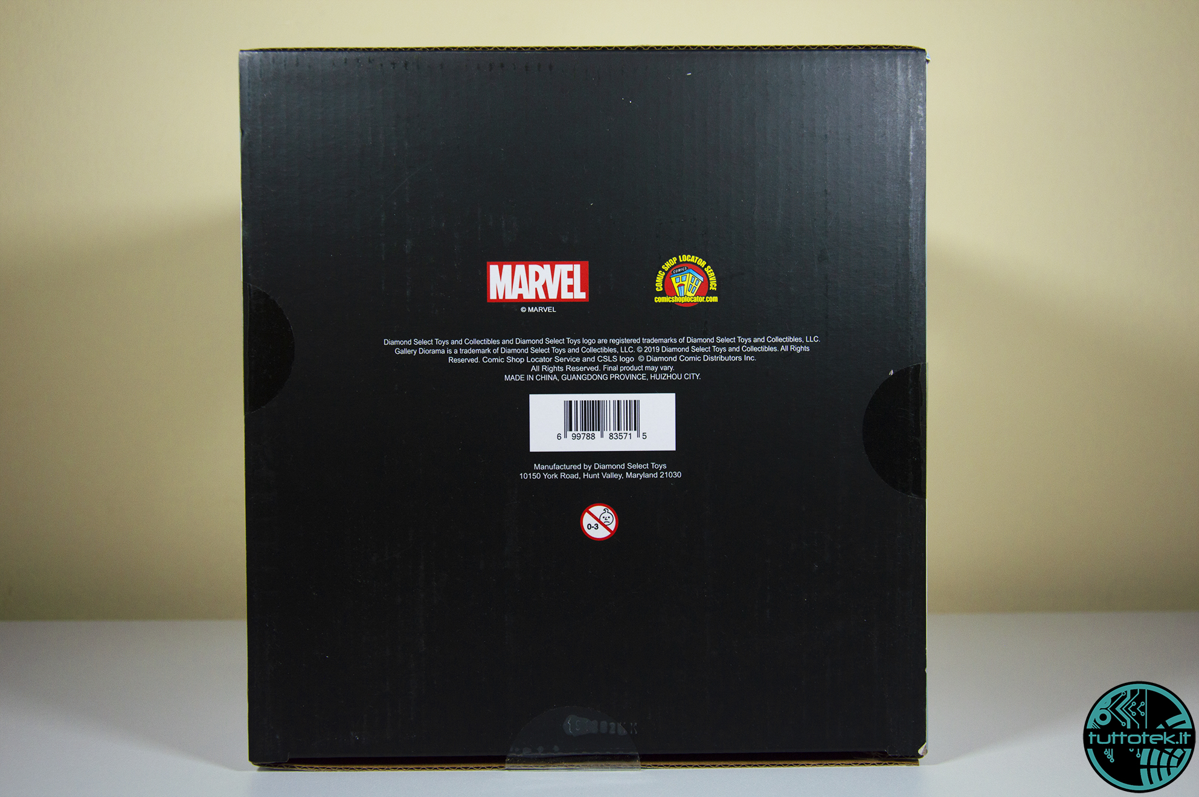 Recensione Avengers: Endgame, Rescue Gallery Diorama