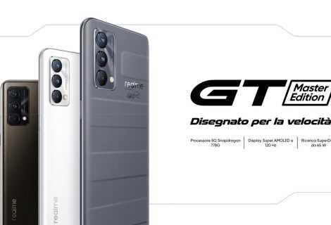 Realme GT Master Edition arriva in Italia: in promozione online il 6 e il 7 settembre