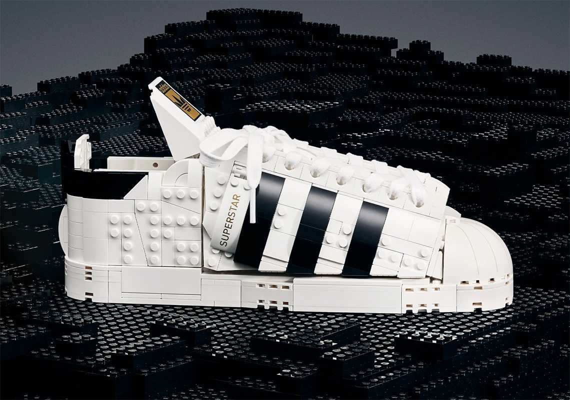 The LEGO Adidas Superstar set star of 3 events!