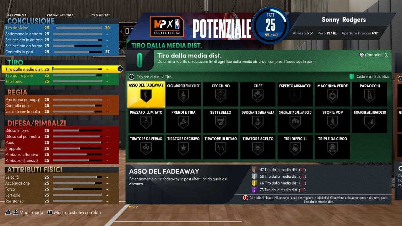 NBA 2K22: guida alla migliore build da Ala Grande