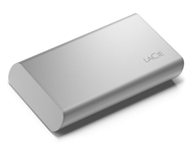 LaCie Portable SSD: Top speed and capacity