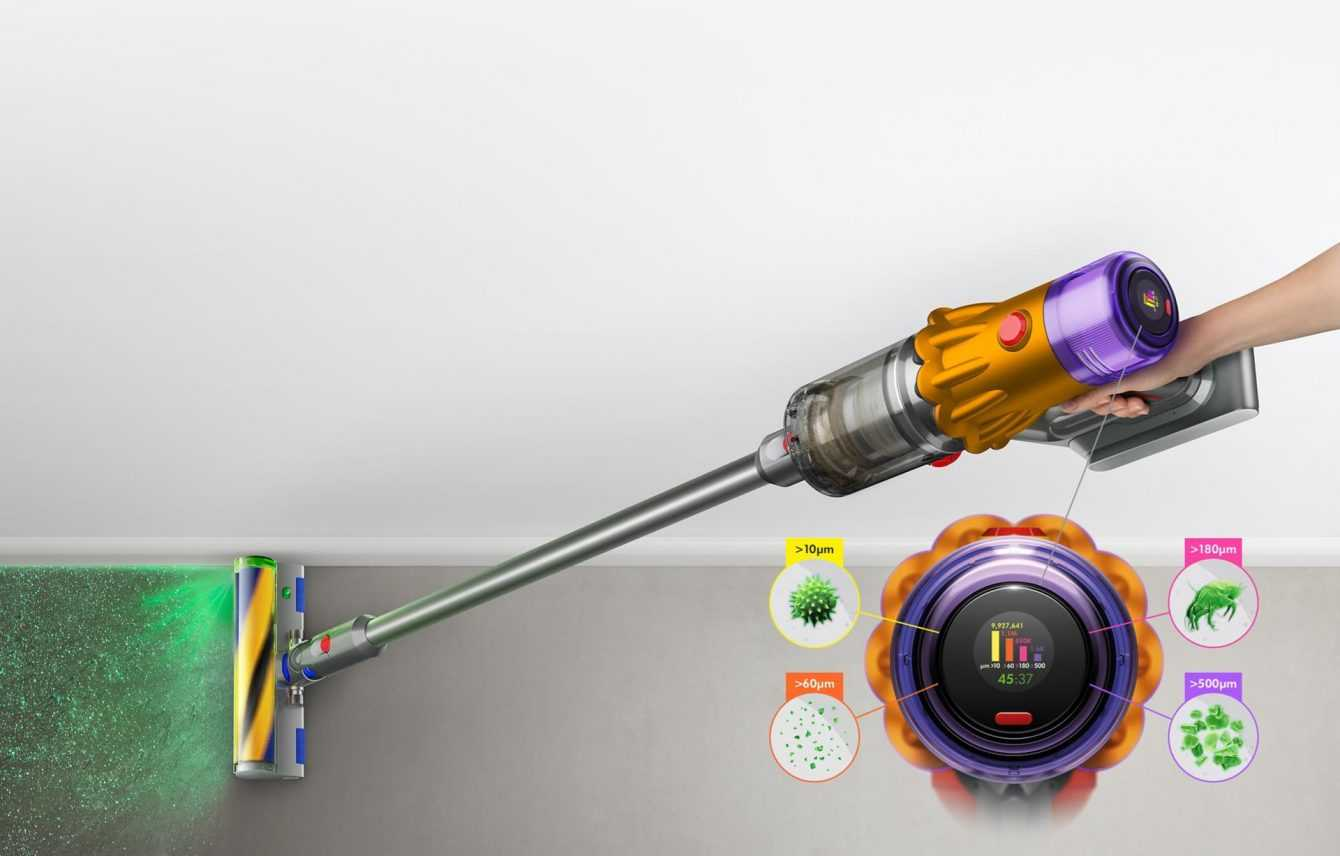Why is the Dyson V15 Detect the best cordless vacuum cleaner?