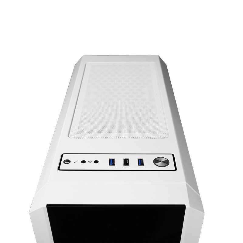 CHIEFTEC Scorpion 3: case A-RGB per PC gaming in bianco