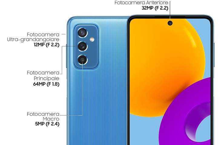 Samsung Galaxy M52 5G: imminente l'arrivo in Italia