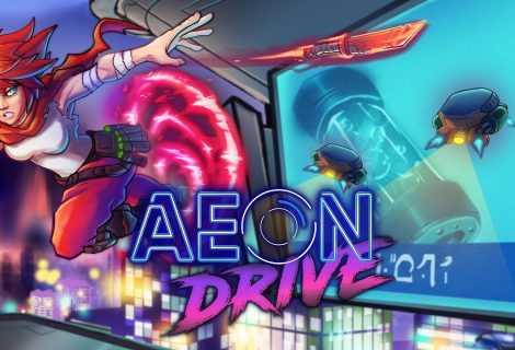 Recensione Aeon Drive: un platform frenetico