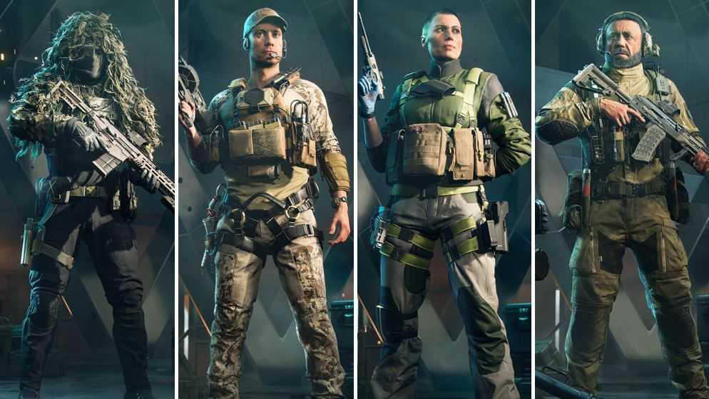 Battlefield 2042: gli Specialisti sarebbero presi da COD Modern Warfare