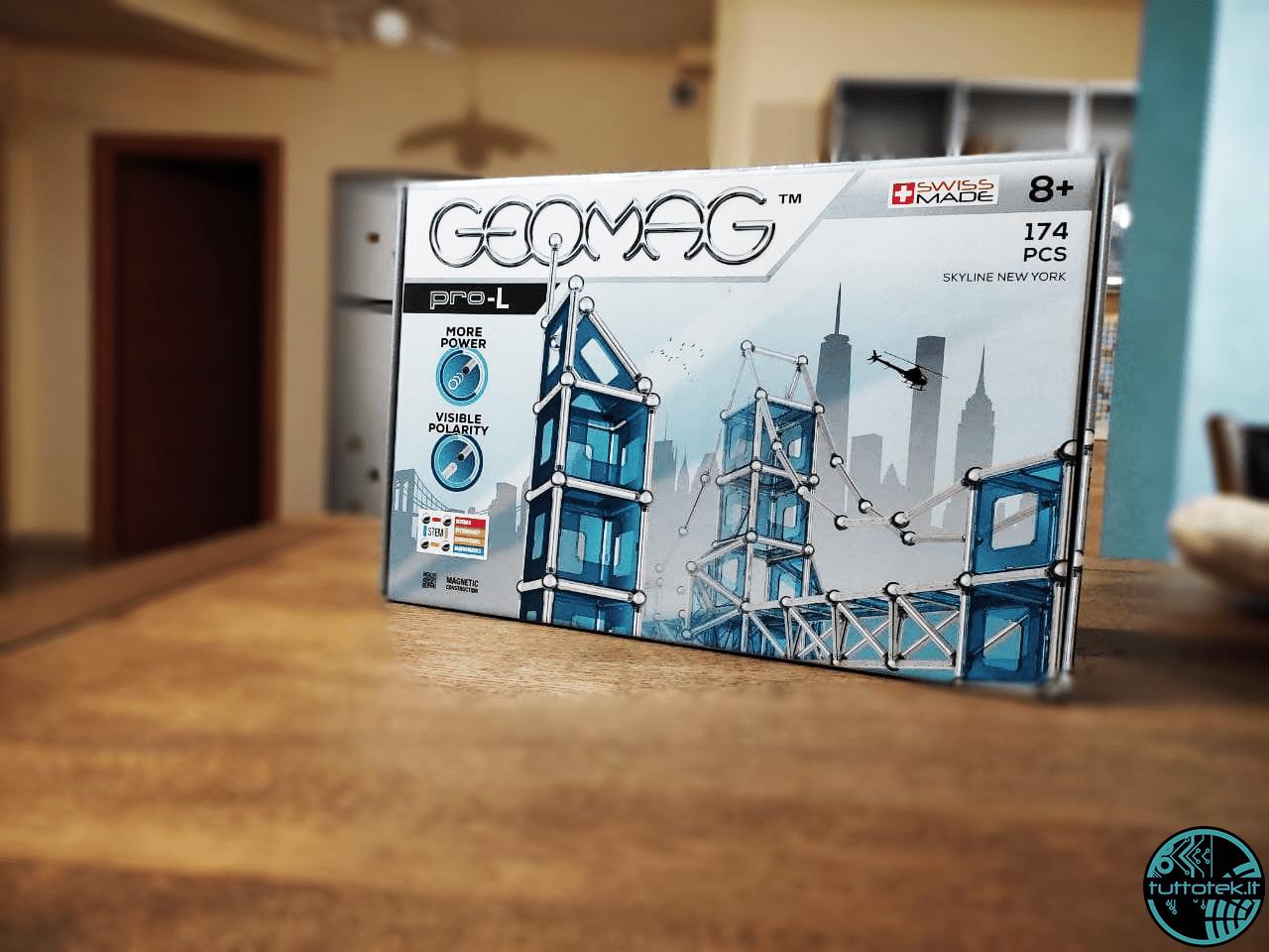 Geomag: il gioco giusto per sviluppare creatività e curiosità