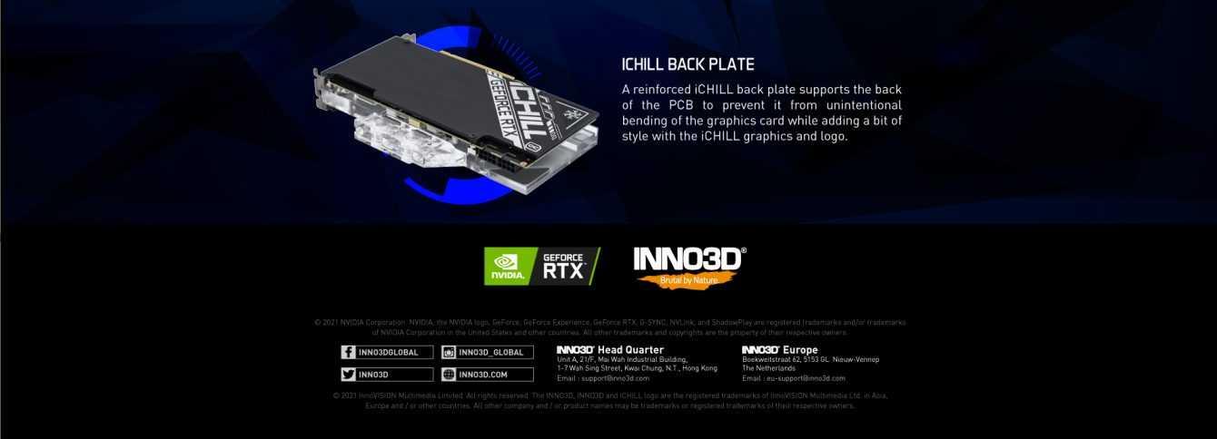 INNO3D NVIDIA RTX 30 iCHILL Frostbite: raffreddamento a liquido integrato!
