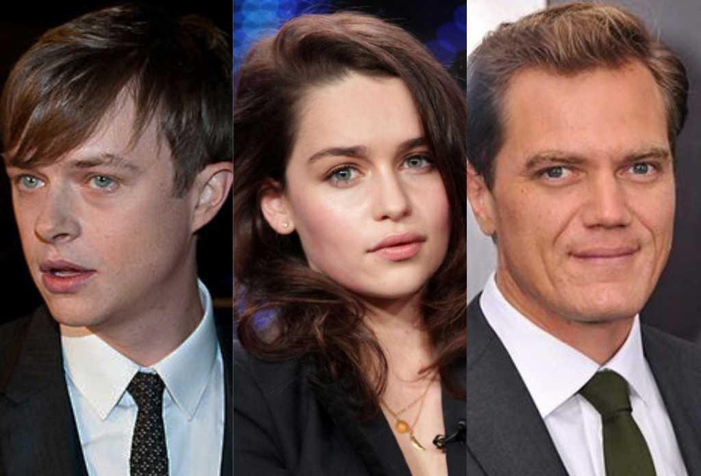 Michael Shannon, Emilia Clarke and Dane DeHaan star in the McCarthy biopic