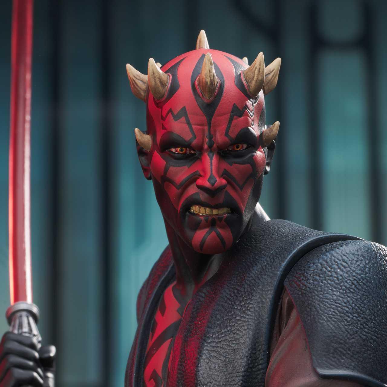 Ecco la nuova statua di Darth Maul da Star Wars: The Clone Wars