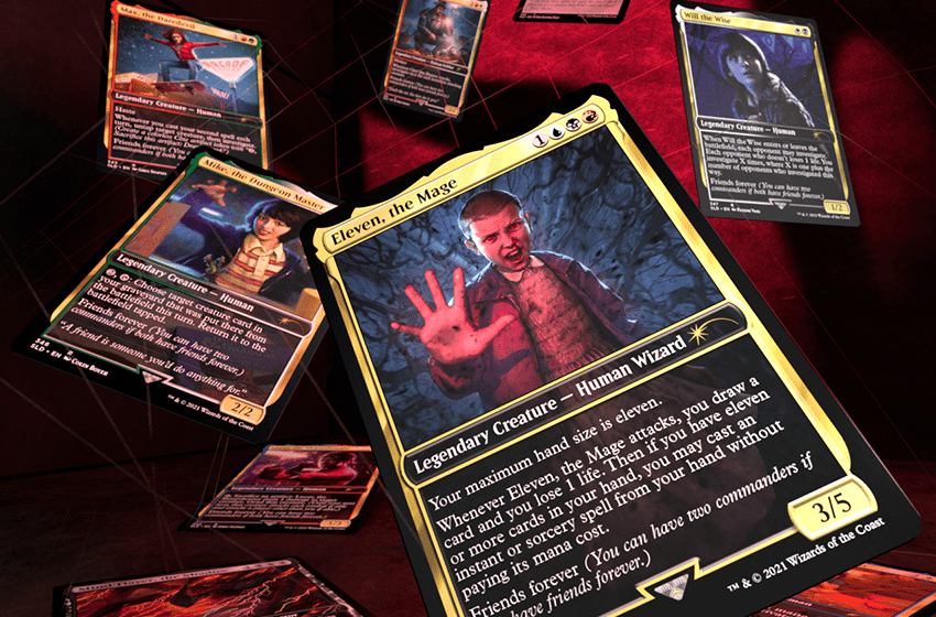 Stranger Things entra nel mondo di Magic: The Gathering!