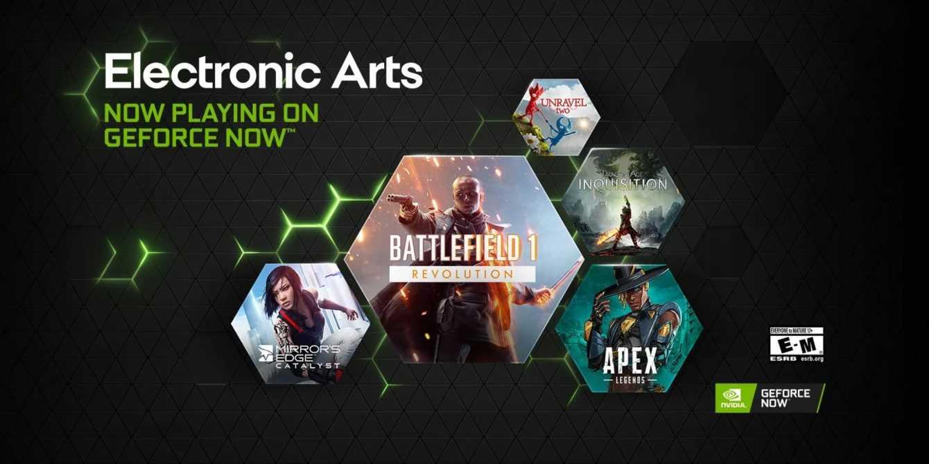 Nvidia GeForce Now: tra i nuovi giochi anche grossi titoli EA