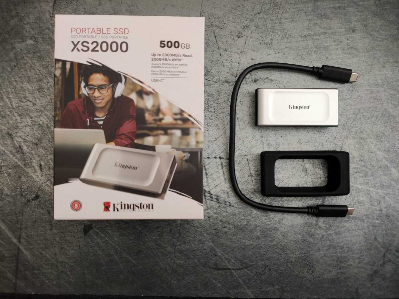 Kingston SSD XS2000 review: portable and fast