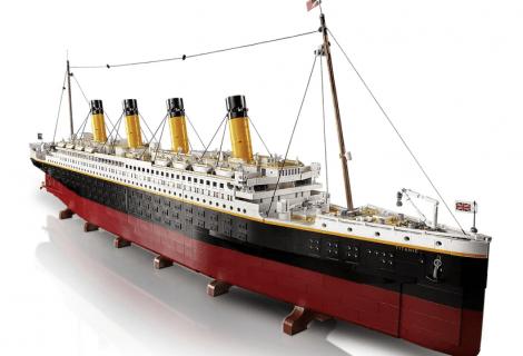 LEGO Titanic: ecco l'omaggio alla nave più famosa della storia