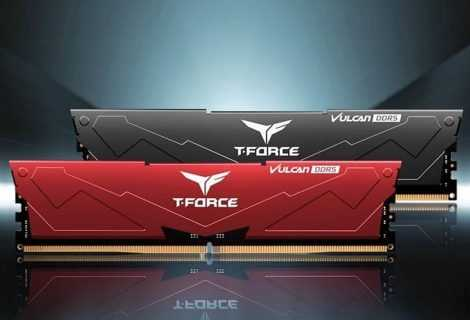 TEAMGROUP T-FORCE VULCAN: nuove RAM DDR5 per il gaming