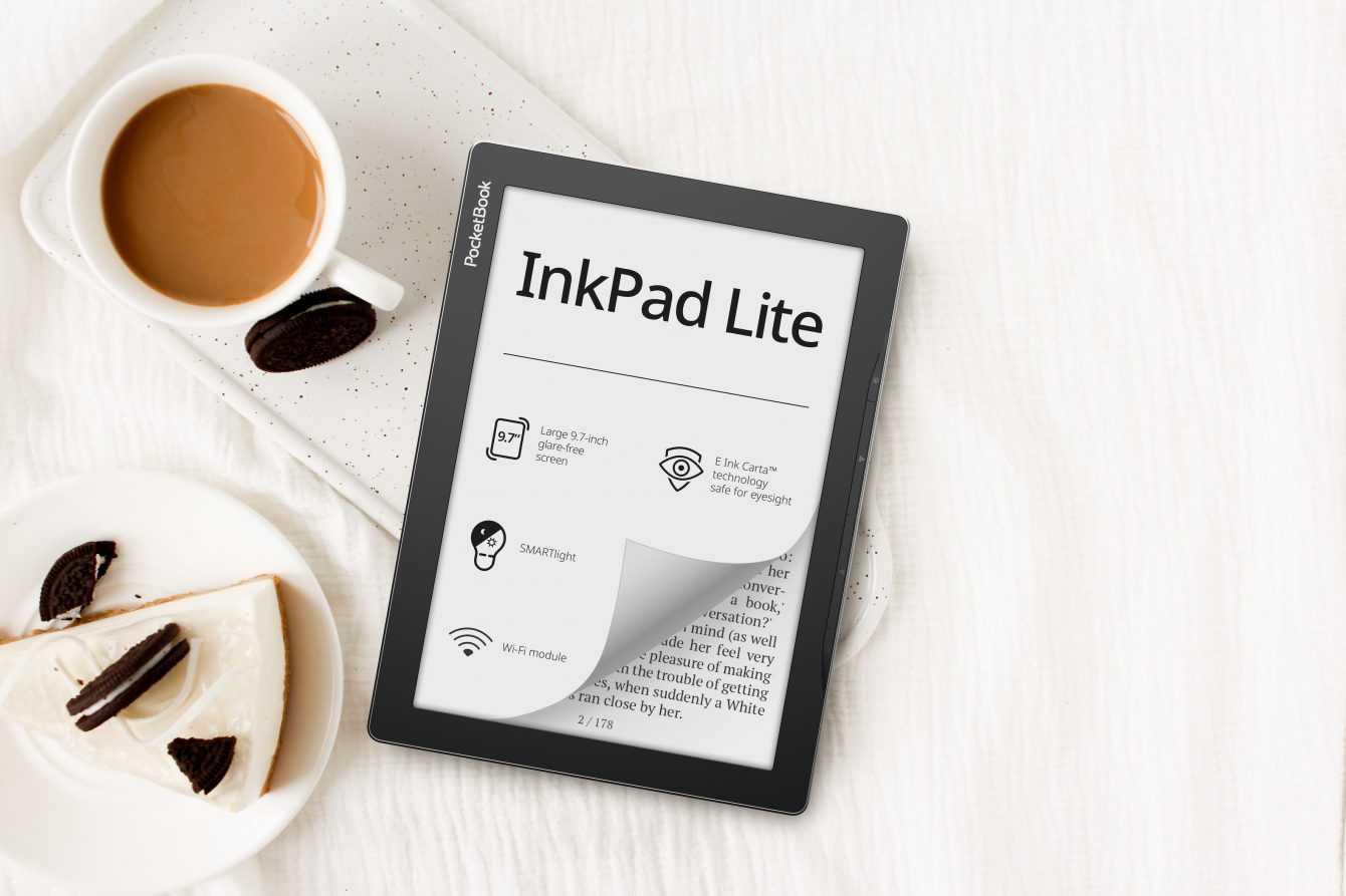 PocketBook InkPad Lite: l'eReader da 9,7 pollici per grandi e piccini