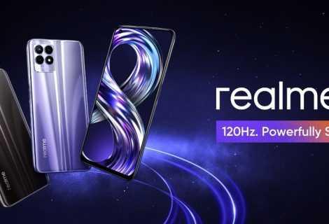realme 8i: arriva lo smartphone realme a 120hz