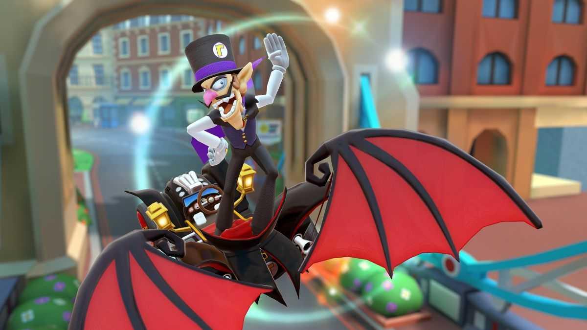 Waluigi: torna su Mario Kart Tour come vampiro