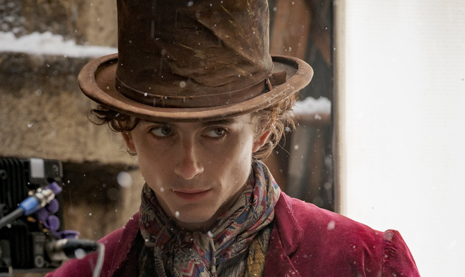 Wonka, svelato su twitter il look del protagonista
