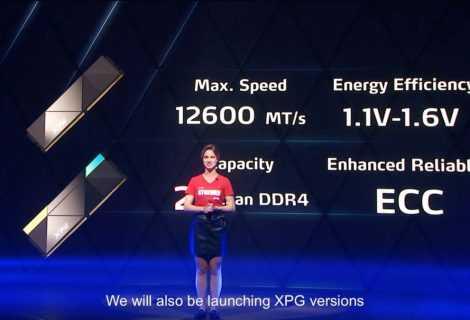 XPG: ecco le prime RAM DDR5 overclockate a 8.118 MT/s